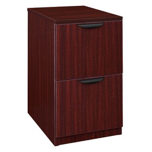 Linh Desk Side 2-Drawer Vertical Filing Cabinet