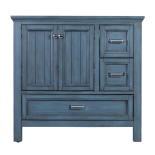 Melgar 36 Single Bathroom Vanity Base by Beachcrest Home