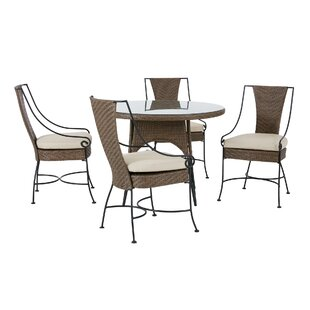Arleigh Patio Dining Chair with Cushion (Set of 2)