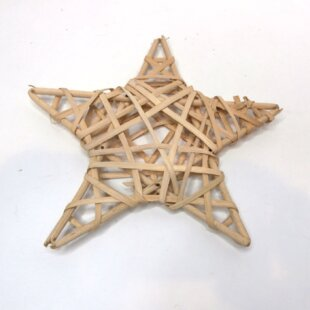 Star 20cm Bamboo Vine Wreath Image