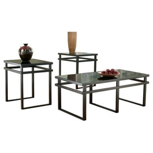Ardelia 3 Piece Coffee Table Set by Wrought Studio
