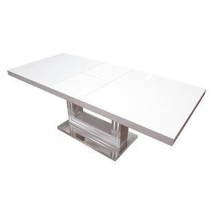 BestMasterFurniture Modern Extendable Dining Table