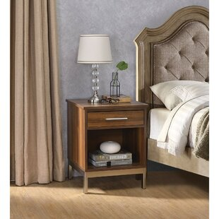 Talala 1  Drawer Nightstand in Brown