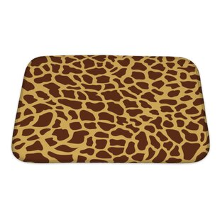 Cappa Giraffe-Shaped Monsaic Bath Rug