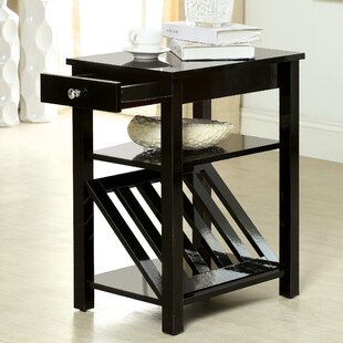 Waldon 1 Drawer End Table by Hokku Designs
