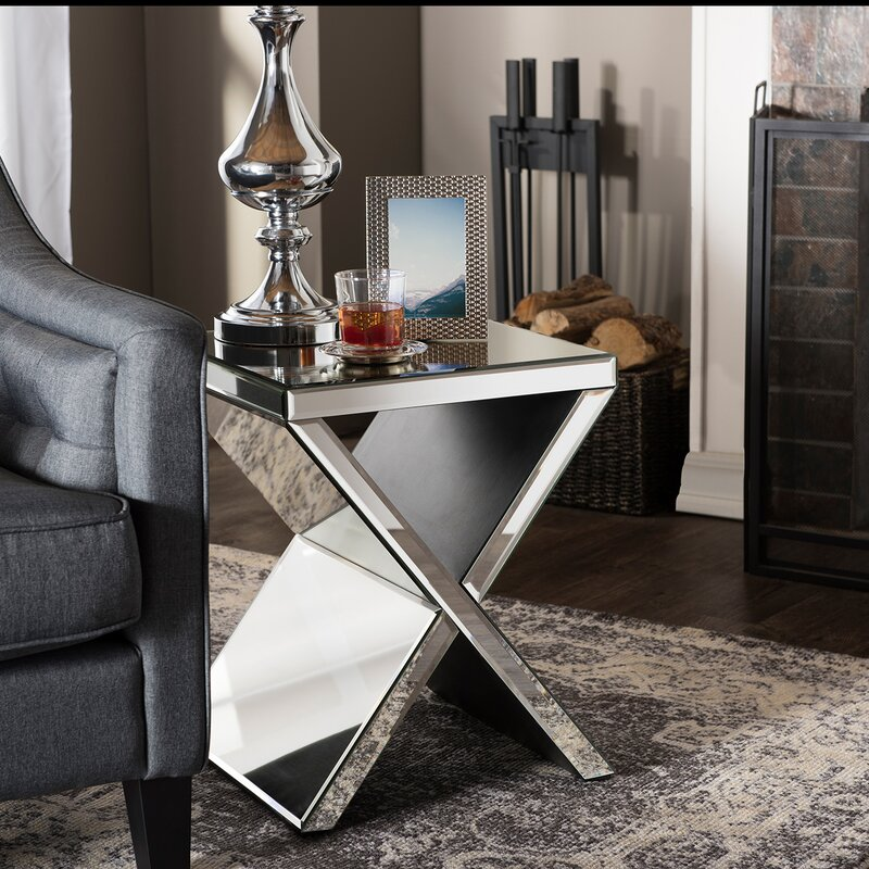 Mercer41 Kaplan End Table Reviews Wayfair