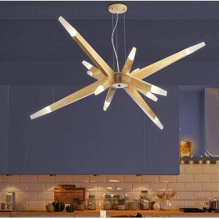 Deerberry 12-Light Sputnik..
