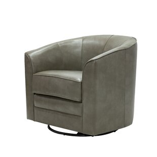 Mauldin Swivel Barrel Chair by Ivy Bronx