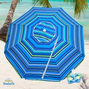 Shadezilla Deluxe 7.5' Beach Umbrella