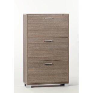 Sarmog 18-Pair Shoe Storage Cabinet