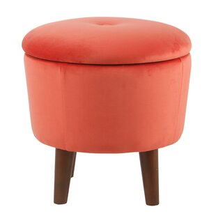 Hitterdal Tufted Storage Ottoman by Wrought Studio