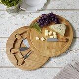 Edmondson 5 Piece Cheese Board and Platter Set