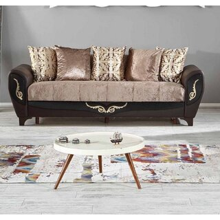 Legacy Plus Convertible Sofa Sleeper, Dropp Brown by Rosdorf Park SKU:BD583743 Details