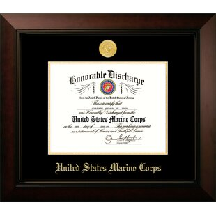 Marine Discharge Legacy Picture Frame By Patriot Frames