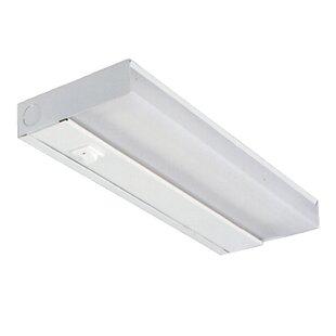 under cabinet fluorescent light inch 12 fluorescent under cabinet lighting youll love wayfair