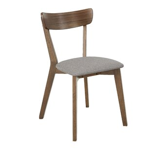 Great Price Rockaway Solid Wood Dining Chair (Set of 2) by Bungalow Rose Reviews (2019) & Buyer's Guide