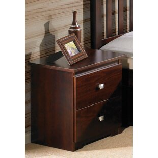 Harriet Bee Hopkins 2 Drawer Nightstand