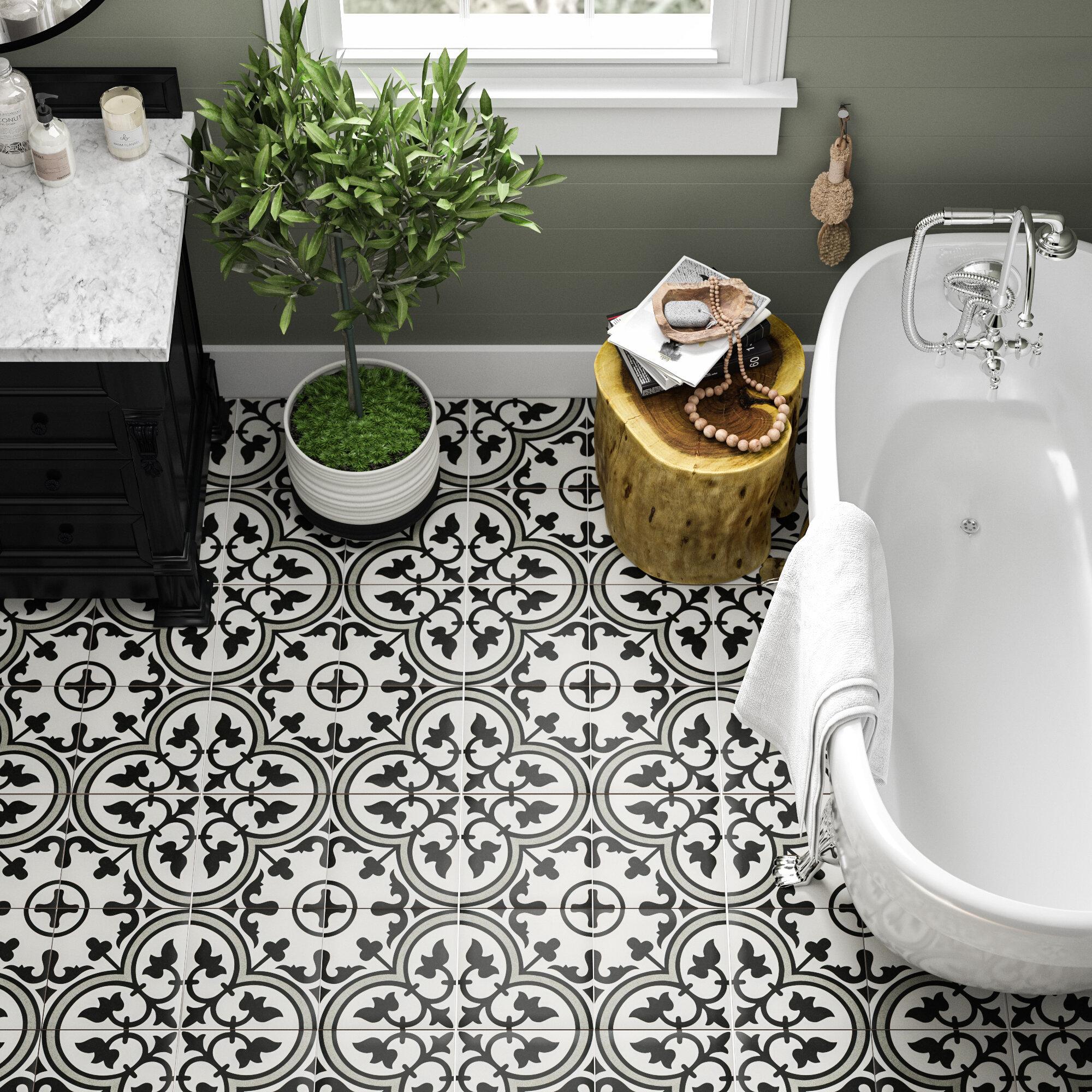 Pressed Porcelain Floor Tile