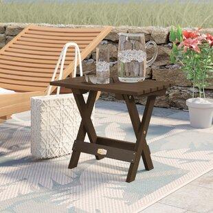 Beachcrest Home Hamptonburgh Essential Folding Side Table