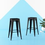 Clique Bar & Counter Stool (Set of 2) by Hashtag Home