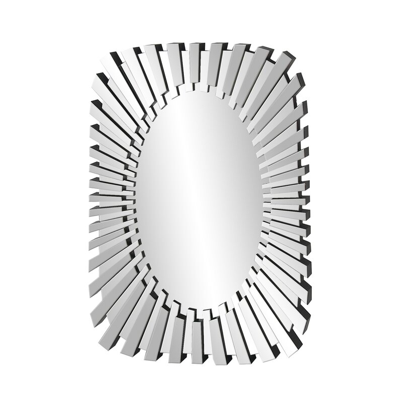 Orren Ellis Espada Glam Modern Contemporary Accent Mirror