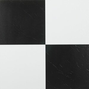 black and white tile floor texture. Nexus Self Adhesive 12  x 1 2mm Vinyl Tile in Black Flooring You ll Love Wayfair