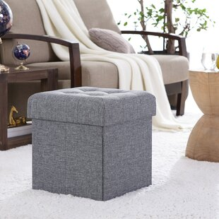 Awe Inspiring Lambertville Foldable Tufted Square Cube Foot Rest Storage Ottoman Squirreltailoven Fun Painted Chair Ideas Images Squirreltailovenorg