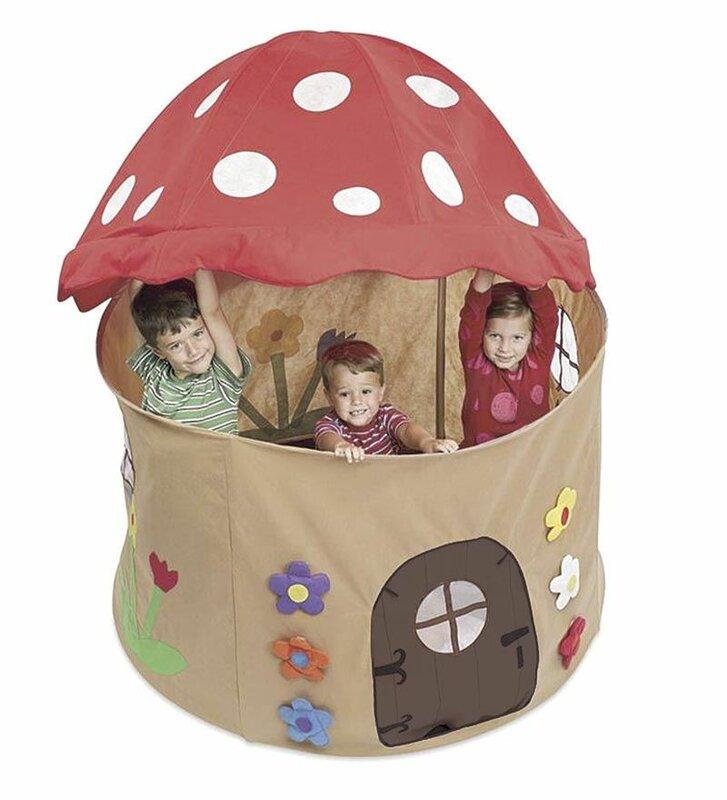 Mushroom Play Tent  sc 1 st  Wayfair & Magic Cabin Mushroom Play Tent u0026 Reviews | Wayfair