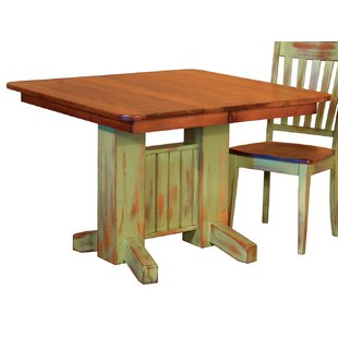 August Grove Bayliss Solid Wood Dining Ta..