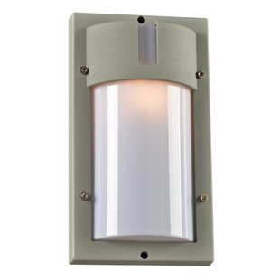 Reviews Loftus 1-Light Outdoor Flush Mount By Ebern Designs