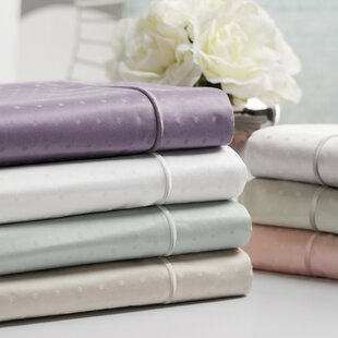 Swiss Dot Jacquard 100% Cotton 700 Thread Count Sheet Set