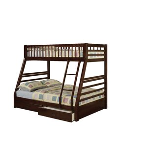 Reece Twin Over Full Bunk Bed with 2 Drawers by Viv + Rae