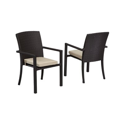 Astonishing Solana Patio Dining Chair With Cushions Sunset West Color Gmtry Best Dining Table And Chair Ideas Images Gmtryco