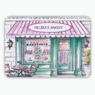 Melissa S Bakery Personalized Kitchen Mat