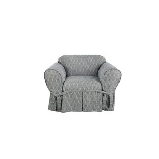 Strand Waverly Box Cushion Armchair Slipcover