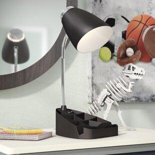 Zainab Gooseneck Organizer 15.35 inch  Desk Lamp