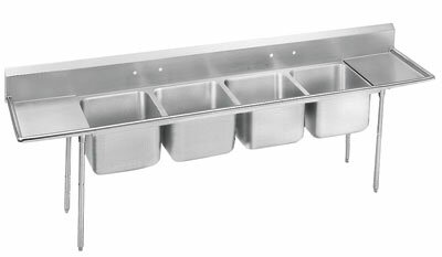 900 Series Free Standing Service Sink Advance Tabco Length 138