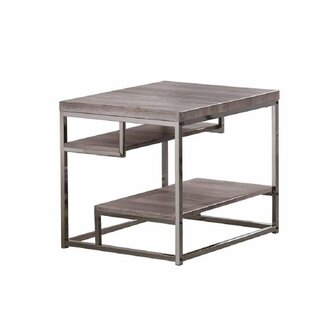Chatfield 2 Shelves End Table by Williston Forge Savings