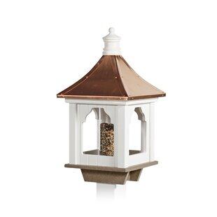 YardCraft Beak 'N' Feathers Cupola Decorative Bird Feeder