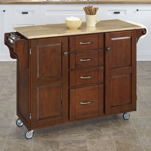 Stroman-a-Cart Kitchen Island August Grove