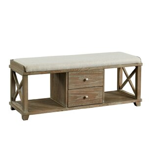 Flor Upholstered Storage Bench by Gracie Oaks