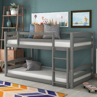 Dreama Twin over Twin Bunk Bed by Harriet Bee