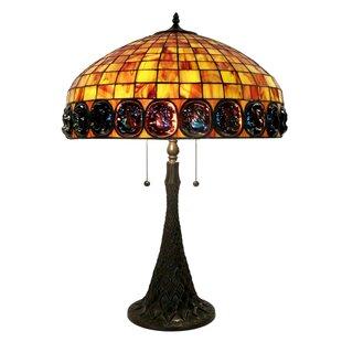 Lukes 2-light Table Lamp by Astoria Grand