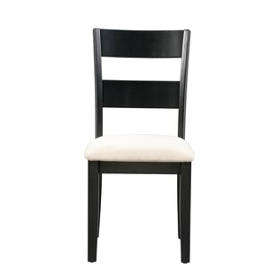 Inexpensive Emmalynn Solid Wood Dining Chair (Set of 2) by Longshore Tides Reviews (2019) & Buyer's Guide