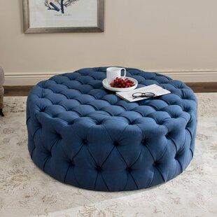 Modern Blue Ottomans + Poufs  aae899242ce16