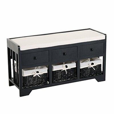 Vergara Upholstered Storage Bench  sc 1 st  Wayfair & Beachcrest Home McKinley Storage Bench u0026 Reviews | Wayfair