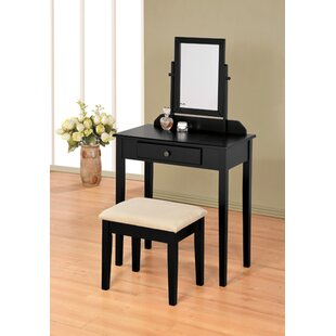 Andover Mills Mooney Vanity Set with Mirror