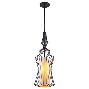 Fleur De Lis Living Crume 1-Light Geometric Pendant