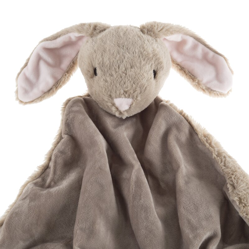 Harriet Bee Estes Bunny Stuffed Animal Security Baby Blanket Wayfair