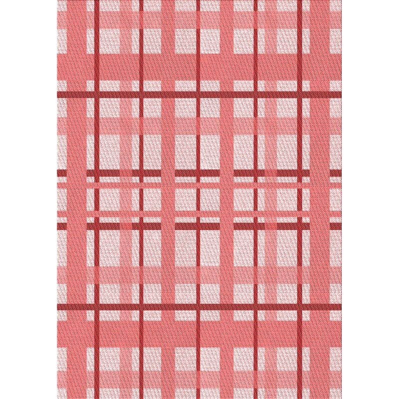 East Urban Home Jasmin Plaid Wool Red Area Rug Wayfair Ca